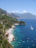 Conca dei Marini - Saracena Beach - Click to go to the town