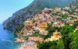 View of Positano - Click to go to the town